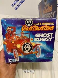 VINTAGE 1986 SCHAPERS Filmation's Ghostbusters Ghost Buggy RARE! New Box WOW