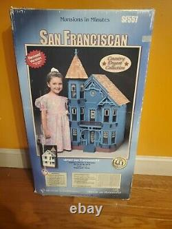 VINTAGE Mansion in Minutes San Franciscan Kit Dura Craft NEW IN BOX. RARE
