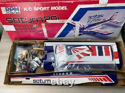 VTG RARE EZ RPM SATURN 20L In Box RTF ARF 20-25 Class Engine No Manual RC kit