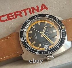 Very rare, boxed, serviced vintage Certina Argonaut 200 M diver automatic watch