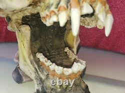 Vintage 2002 Metallica Rare Pushead Skull Ashtray Bust Stash Box Figurine Spence