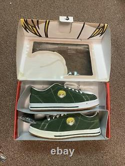 Vintage 90s Hook Ups Skateboards Shoes Red Eyes Rare Jeremy Klein NEW IN BOX