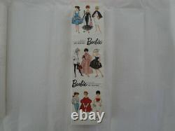 Vintage Barbie Rare Brunette Ponytail #850 NRFB ALL ORIGINAL and BOX
