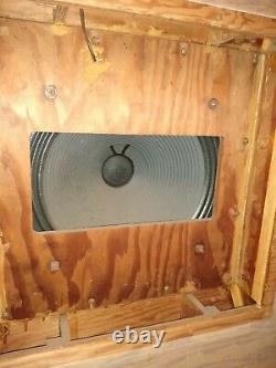 Vintage Electrovoice Ev Georgian Monitor Horn Subwoofer Speaker System Rare