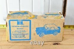 Vintage Ertl International Ih Brown Scout Sport Top Box! Wow Rare Collection