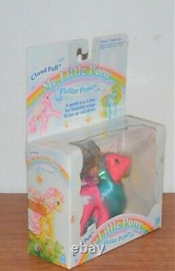 Vintage G1 My Little Pony FLUTTER PONIES CLOUD PUFF In Original Box VERY RARE
