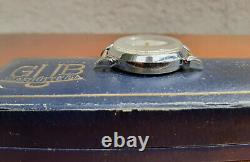 Vintage GUB Glashütte DDR German Watch in Box with Paper 1956 GDR Rare