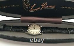 Vintage Lucien Piccard Sea Shark Watch Automatic Waterproof with Box Mint RARE