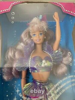 Vintage Magical Hair Mermaid Barbie 1993 European Special Edition NRFB MINT RARE