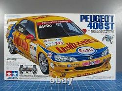 Vintage Rare New in Box Tamiya 1/10 R/C Peugeot 406ST TL-01 Chassis # 58212