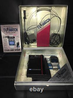 Vintage SEIKO TV Watch With Box Cannot Watch TV Very Rare