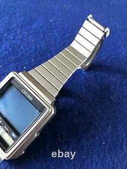 Vintage Seiko TV Watch T001-5019 Lcd/Lvd Mens James Bond Octopussy Watch Rare