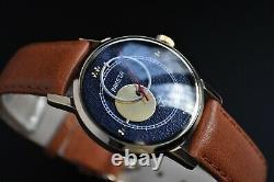 Vintage Space Wrist Watch Copernicus RAKETA Day Nigh USSR Rare DIAL Cal2609