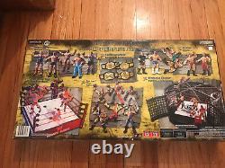 WWE WWF Wrestling Rare Vintage Boxed Set MIP MIB Undertaker Lesnar Rock HHH