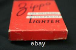 1946 Vintage Zippo Original Red Box Very Rare (vide)