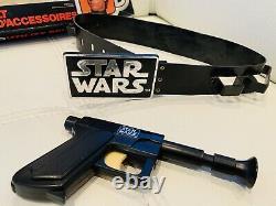 1977 Star Wars Kenner Luke Skywalker Utility Ceinture + Boîte Vintage Canadienne Rare