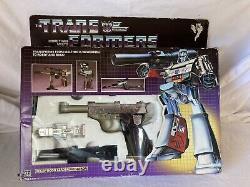 1984 Vintage Transformateurs Originaux G1 Megatron Complet En Boîte! Rare