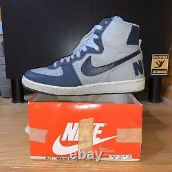 1985 Terminator High Big Nike Vintage Air Jordan 1 Chicago 9 Boîte Rare Reciept