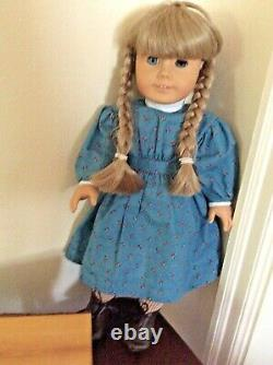1990 Première Édition Kirsten Larson American Girl Doll (extrêmement Rare!)