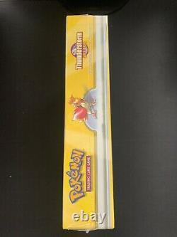 1999 Pokemon Thunderstorm Vintage Factory Sealed Gift Box 3 Booster Packs + Deck
