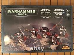 40k Rare Oop Vintage Metal Space Marine Black Templar Sword Brethren Box Set Nib