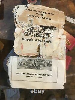 Absorbeurs De Choc Originaux De L'automobile Indienne Barn Fresh! C'est Pas Vrai! Avec Boîte Et Papier