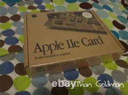 Apple Iie Card Macintosh Scellé Nouvelle Boîte À Rétractation Vintage Rare Mac M0444ll / D