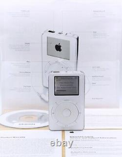 Apple Ipod Classic 1ère Génération 5 Go Dans Original Box Rare Vintage