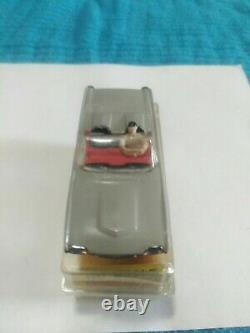 Aurora Tjet Vintage Ho #1355 Rare Gray Thunderbirdwithorig. Boîte, Étiquette, Mousse, Instruc