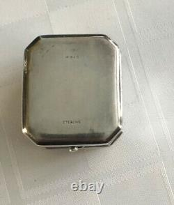 Birks Sterling Silver 925 Vintage Gravé Ring Box 1.5 Rare