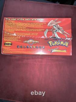 Booster De Booster Scellés Pokemon Wotc Collection Légendaire Rare Vintage Nouveau