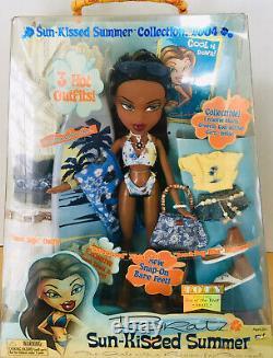 Bratz Doll Sun-kissed Summer Collection 2004 (rare) Boîte Endommagée