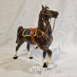 Breyer Vintage Canadian Mountie & Fury Prancer Avec Box Nan Qualifié! Rare