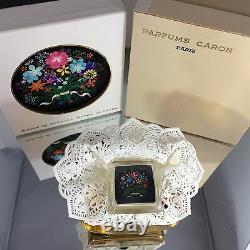 Caron Fleurs De Rocaille Extrait Vintage Scellé Deux Boîtes Parfectionvery Rare