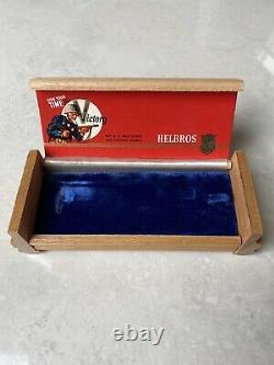 Chronographe Helbros Vintage Et Boîte Originale, Combo Rare Set De La Seconde Guerre Mondiale 2