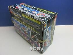 Complet Thundercats Thundertank Vehicle Vintage Original Ljn Rare 1985 Boxed