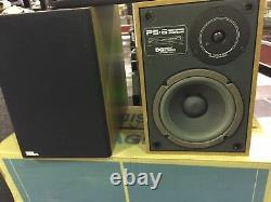 Design Acoustics Ps-6 Haut-parleurs Paire Flambant Neuf Dans La Boîte! Millésime Rare