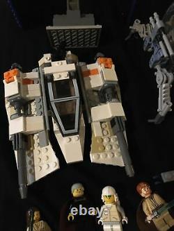 Énorme Vintage Lego Star Wars Lot Avec Des Tonnes De Décors Rares Et Des Chiffres! Beaucoup