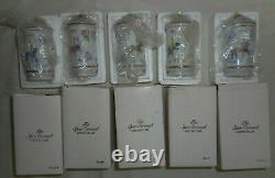 Ensemble De 19 Nouveaux Lenox L'épice Carousel Fine Porcelaine 1993 Jars Box Rare Vintage