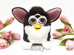 Furby Faux Furdy Knockoff Furby Fofito Noir Et Blanc Boxed Vtg Extremelly Rare