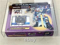 G1 Transformateurs D'ondes Sonores Hasbro Afa 80 Vieux Robot De Jouets Rares Scellés