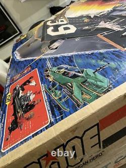 Gi Joe 1985 Vintage Uss Flagg Porte-avions Original Box Seulement! Rare