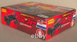 Gi Joe Arah Takara Japon 1986 Misb Nouvelle Boîte Scellée E-21 Cobra Ferret Millésime Rare