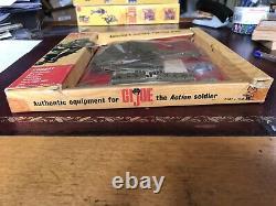Gi Joe Vintage Extremeley Rare Fenêtre De Combat Boîte Avec Le Super Rare Cloth Ammo B
