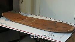 Jeff Grosso Santa Cruz Vintage Skateboard Rip Og Toy Box 1987 Etats-unis Très Rare Vieux