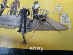Kenner Vintage Star Wars Tatooine Skiff 1984 Loose Complet Avec Boîte Rare