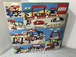 Lego 1987 Vintage Legoland 6381 Motor Speedway Racing Track Scellé Nouveau Très Rare