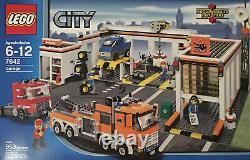 Lego City Garage (7642) Nouveau Dans La Boîte Rare Et À La Retraite Usine Scellée