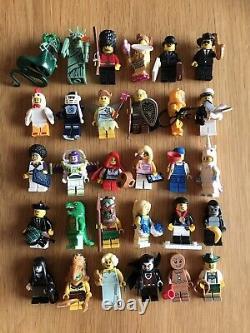 Lego Minifigures Série Collectible Rare Joblot Huge Bundle Cmf X 36 Figures