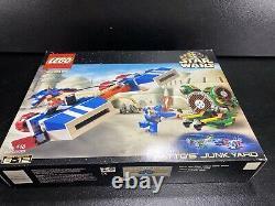 Lego Star Wars 7186 Wattos Junkyard Rare 2001 Nouveauté Dans La Boîte Scellée